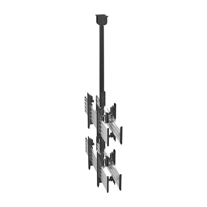 VCM-D2 Micro-Adjustable 2X1 TV Video Ceiling Mount