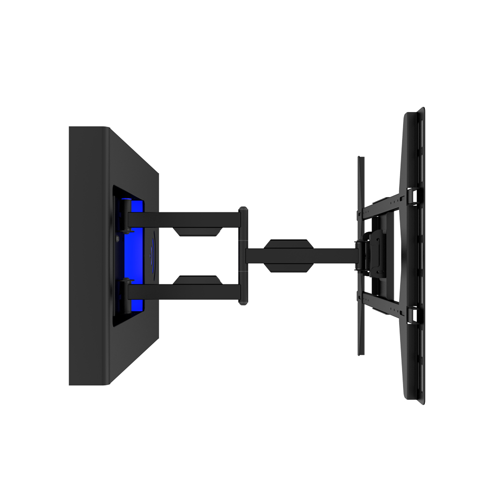 Multi-angle adjustable Full motion storage TV wall mount
