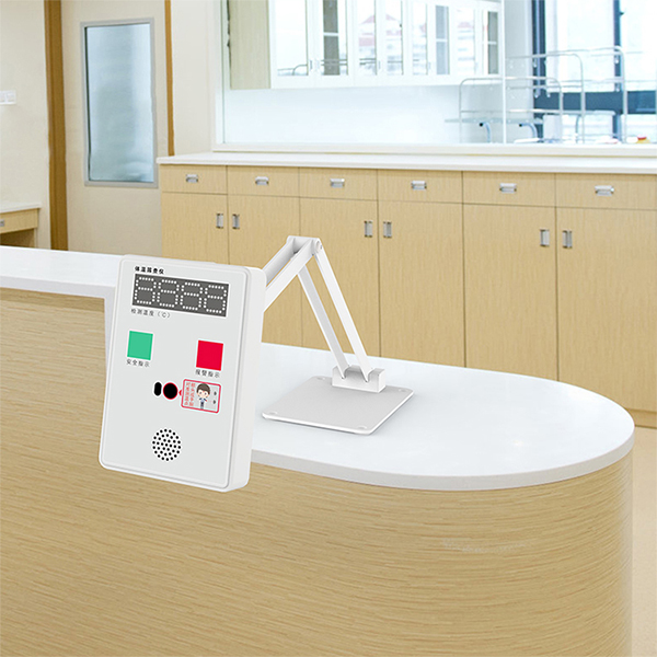 Intelligent Face Recognition Temperature Detector adjustable floor stand